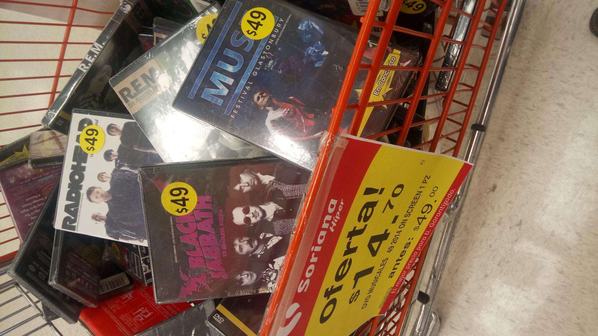 Soriana: Conciertos en DVD
