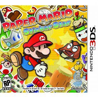 Linio: Paper Mario Sticker Star Nintendo 3DS $249