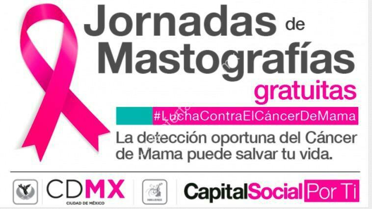 CDMX: Jornadas de Mastografias Gratis