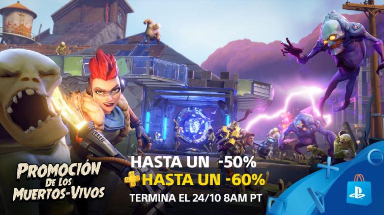 PlayStation: Promoción de los Muertos-Vivos