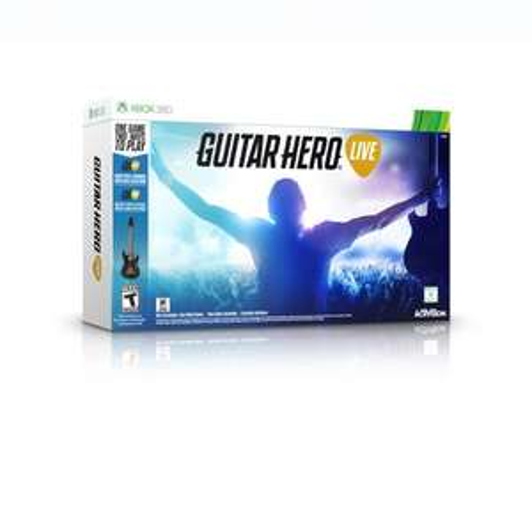 Walmart: Guitar Hero Live Bundle Xbox 360 a $498
