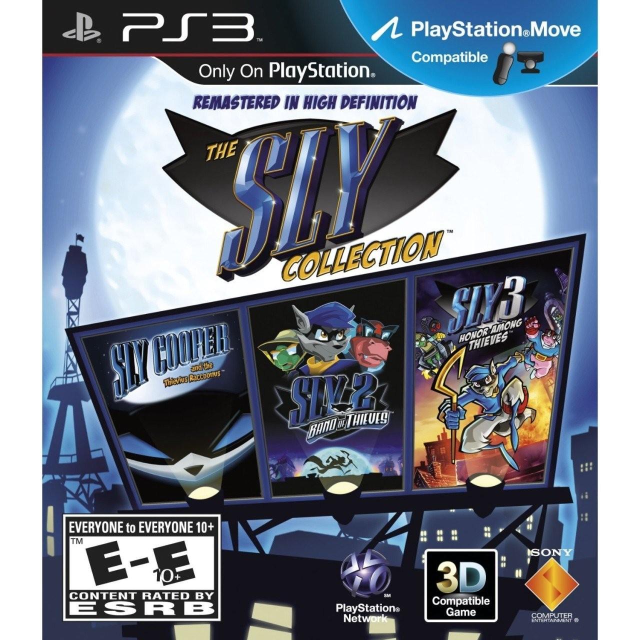 PS3. Colección de Sly Cooper por $3 dólares