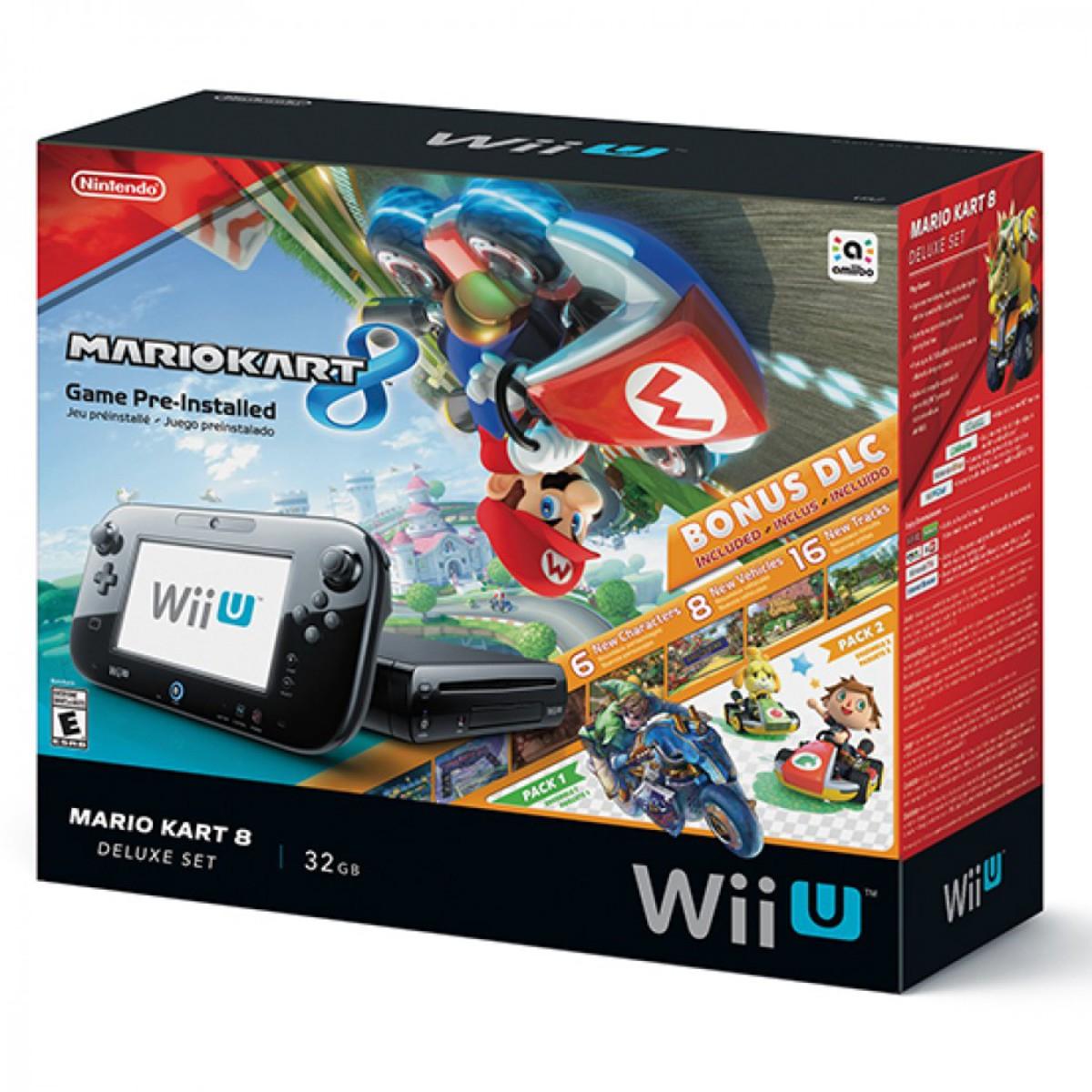 Chedraui Online: Wii U 32GB + Mario Kart 8 + Bonus DLC en $3,250