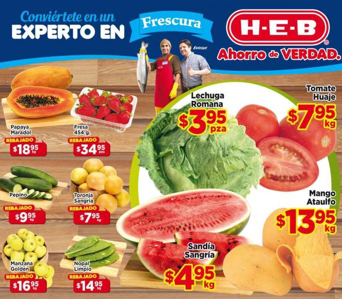 HEB: sandía $4.95, 30% de descuento en depiladores y más