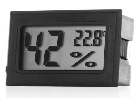 Zaful: medidor de temperatura y humedad