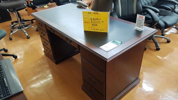 Office Depot Rosarito: Escritorio Sauder Cherry tradicional