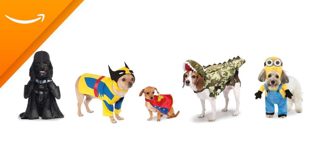 Amazon: disfraces de mascotas desde $129