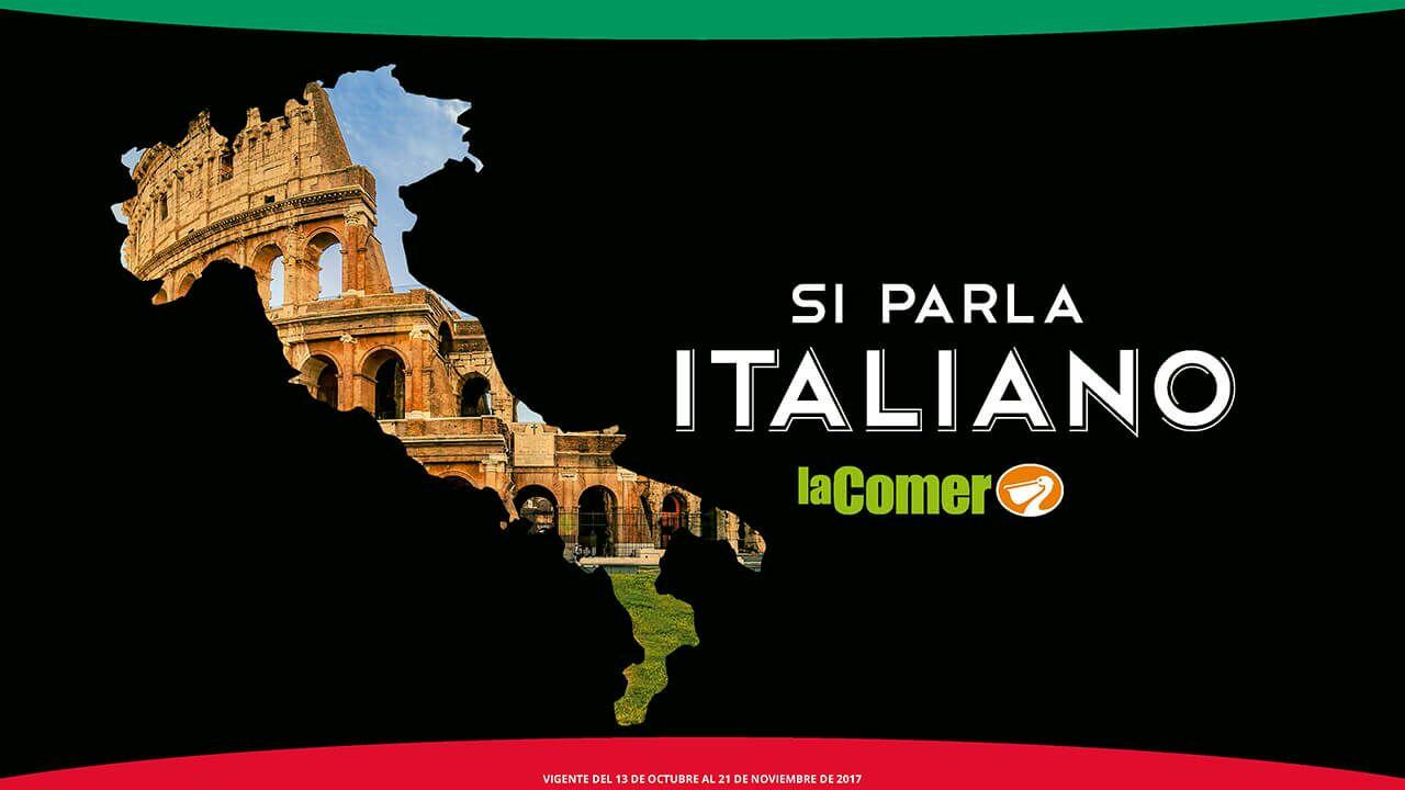 La Comer: Folleto de productos italianos (vigente al 21 de noviembre)