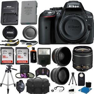 eBay: Super Kit Nikon D5300 incluye envío (pesos aproxi)