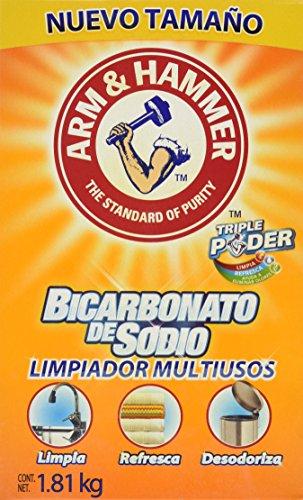 Amazon: Bicarbonato de Sodio 1.8 kg Arm & Hammer