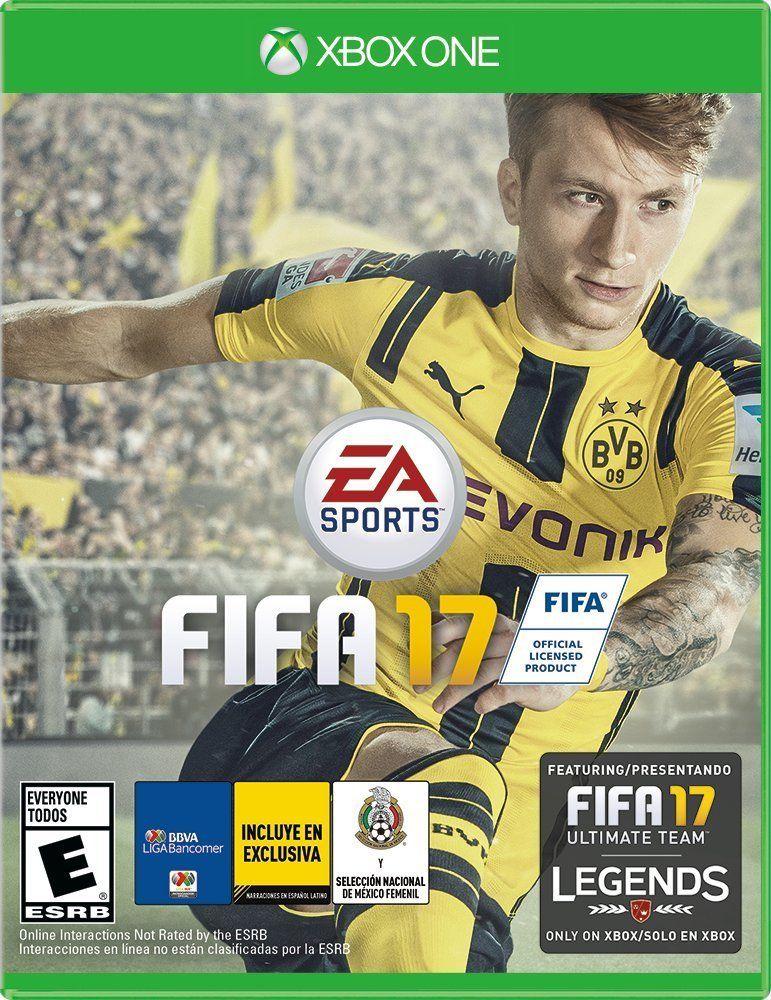 Amazon: FIFA 17 - Xbox One y PS4 - Standard Edition
