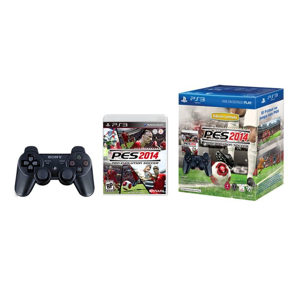 Walmart: PES 2014 PS3 Con control DualShock 3 $599