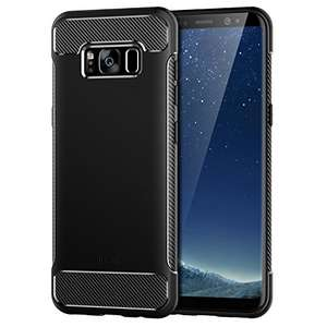 Amazon: Funda Galaxy S8, JETech, negra