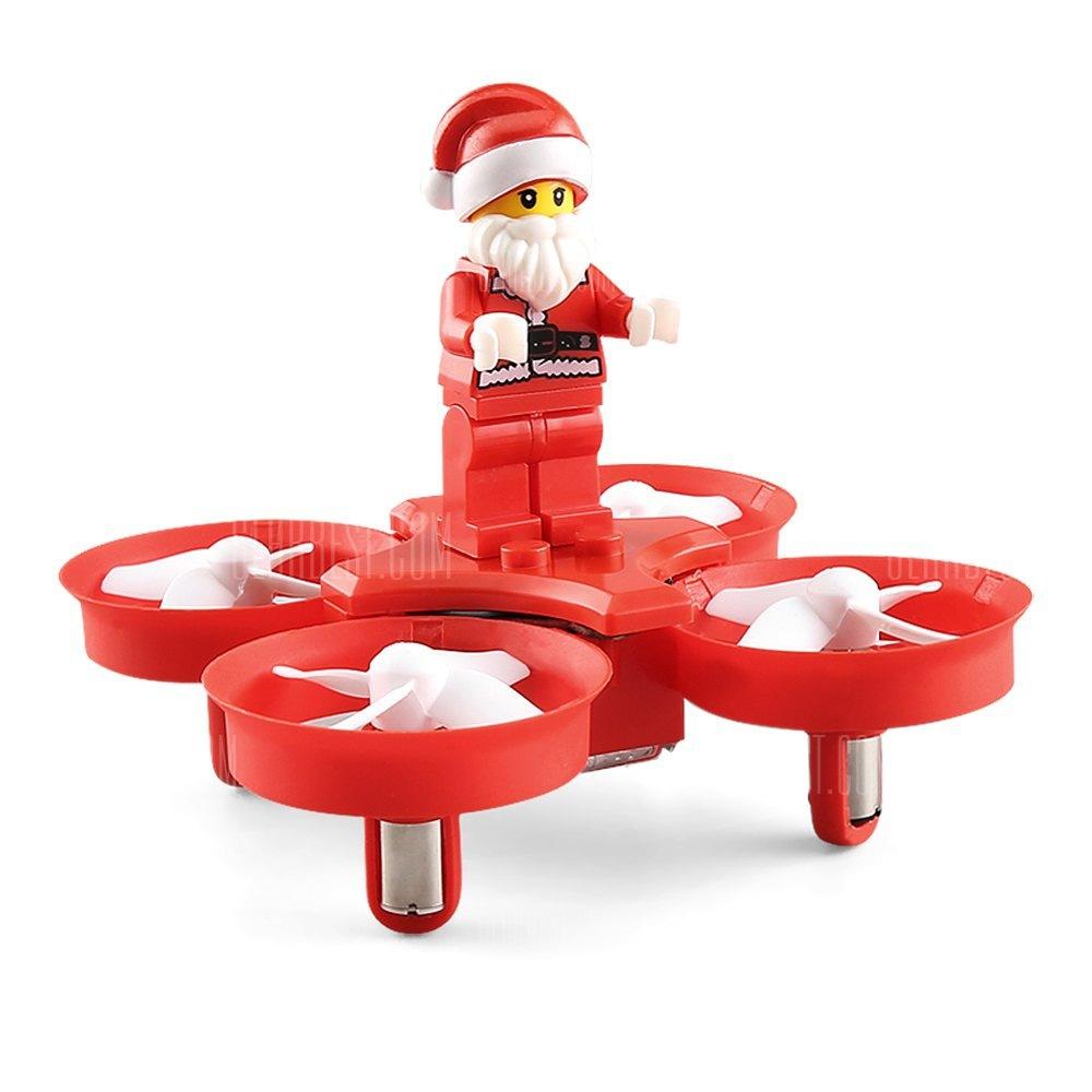 Gearbest: Dron Santa Musical en descuento con cupón + envio