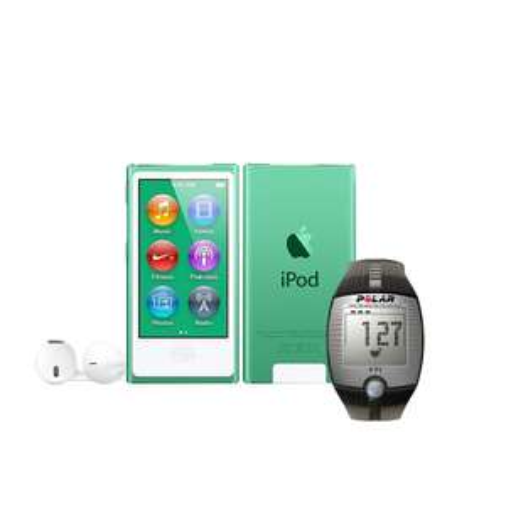 Walmart: iPod Nano 16gb más Monitor Frecuencia Cardiaca Polar $1,674