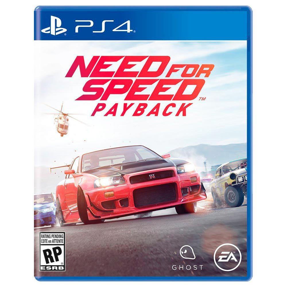 Elektra: Videojuego NEED FOR SPEED PAYBACK para Playstation 4
