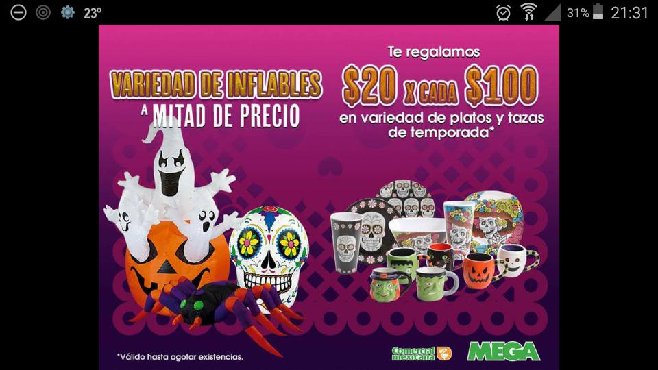 Comercial Mexicana: ofertas en artículos de temporada