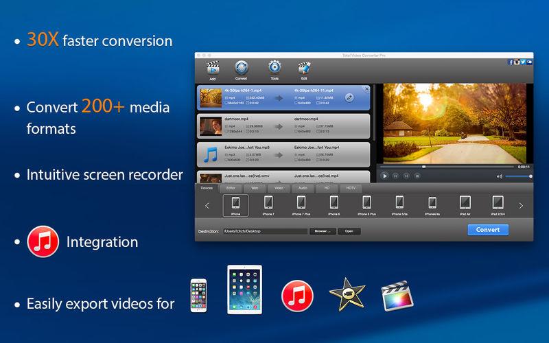 MAC APP STORE: Total Video Converter Pro y otras apps gratis