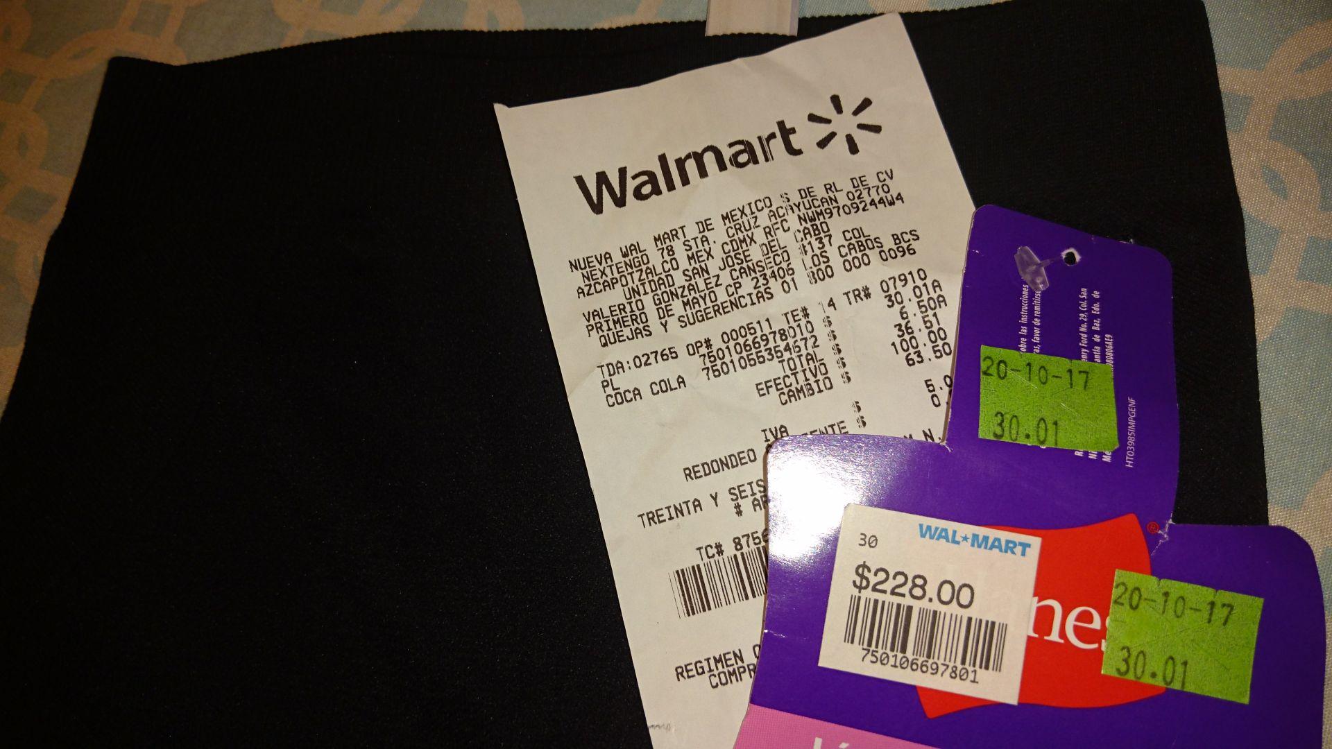 Walmart: Short faja moldeadora walmart