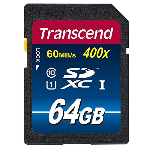 Amazon: Transcend TS64GSDU1PE Tarjeta SD Serie 10