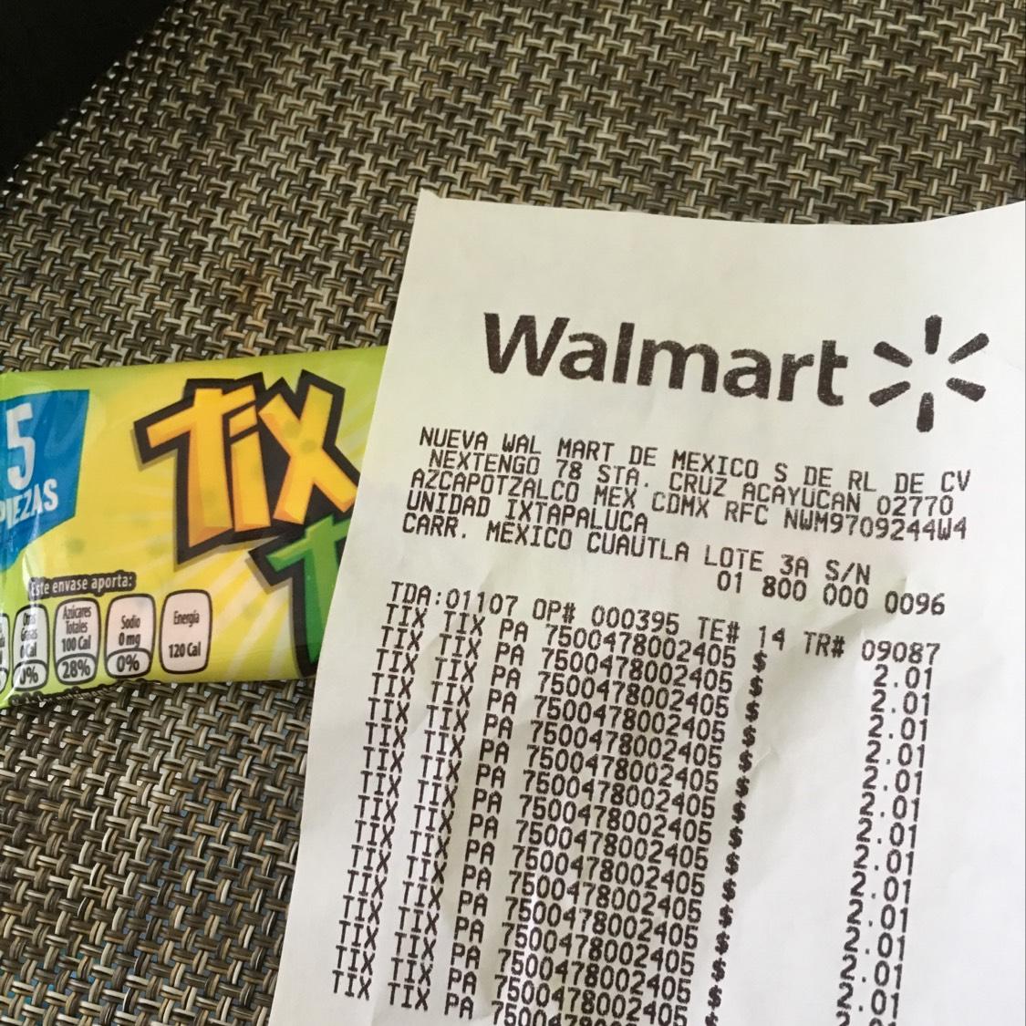 Walmart Ixtapaluca: Tix Tix y más
