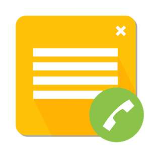 Google Play: Call Notes PRO Android GRATIS