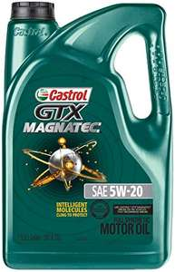 Amazon: Castrol 03063 GTX Magnatec 5W-20 Motor Oil - 5 Quart