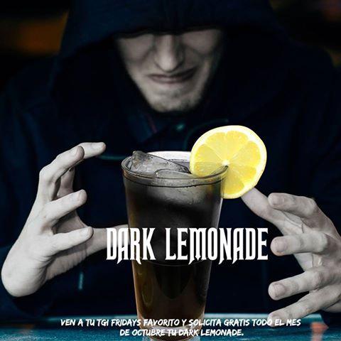 TGI Fridays: limonada negra GRATIS mostrando imagen