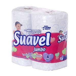 Amazon: Papel higiénico suavel jumbo