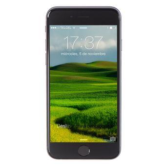 Apple iPhone 6 16GB Telcel-Negro A $9539.10 (con Banorte) ENTREGA ANTES DEL 24.
