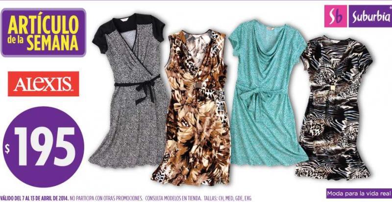 Artículo de la semana en Suburbia: vestidos a $195