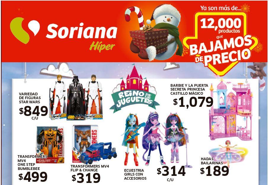 Folleto de ofertas en Soriana Híper del 19 al 25 de Diciembre