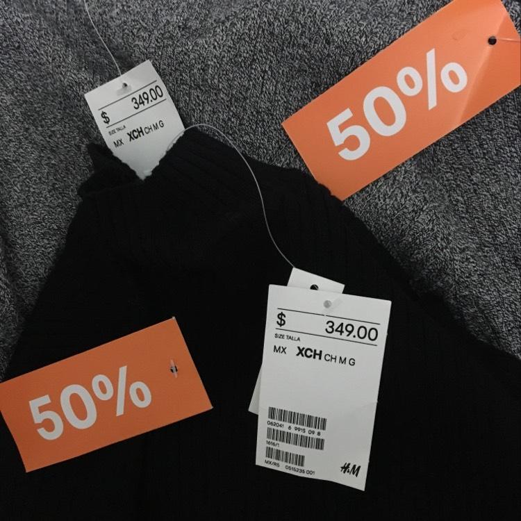 H&M: Sweaters al 50%