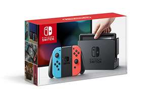 Amazon: Nintendo Switch Neon Red Blue garantía nacional(vendido por un tercero)