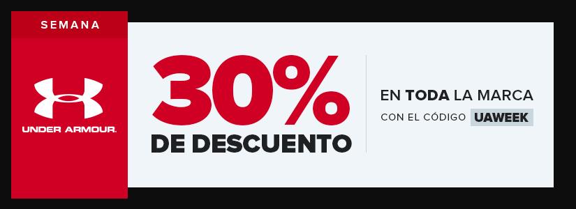InnovaSport: 30% Descuento en marca Under Armour