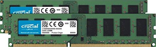 Amazon: 8 GB DDR3 1600 MHz, Crucial CT2K51264BD160B, Kit (4GBx2)