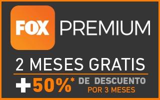 TotalPlay: Fox Premium 2 meses gratis + 3 meses con 50% de descuento.