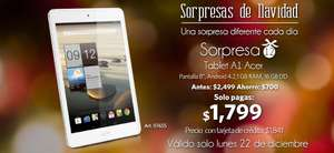 Sams club: Tablet acer iconia A1