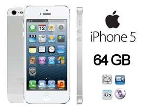 iPhone 5 64GB Gratis en Plan Telcel Pro 1000 de $699 al mes (R9)