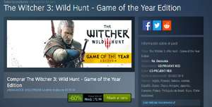 Steam: The Witcher 3: Wild Hunt - Game of the Year Edition