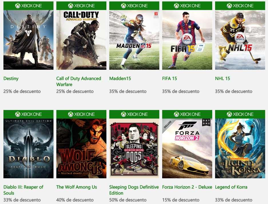 Ofertas de fin de año en tienda Xbox (del 23 al 31 de diciembre)