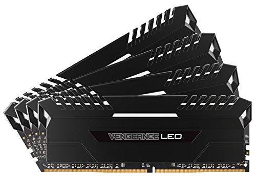 Amazon: 32GB (4x8GB) DDR4, 3000MHz, CORSAIR LED, CMU32GX4M4C3000C15
