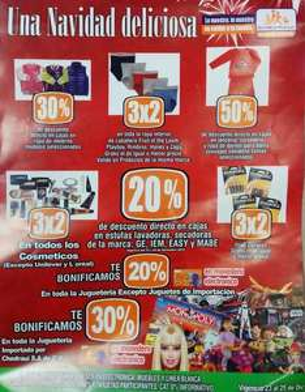 Chedraui: bonificación en juguetes, 3x2 en pilas, cosméticos y más