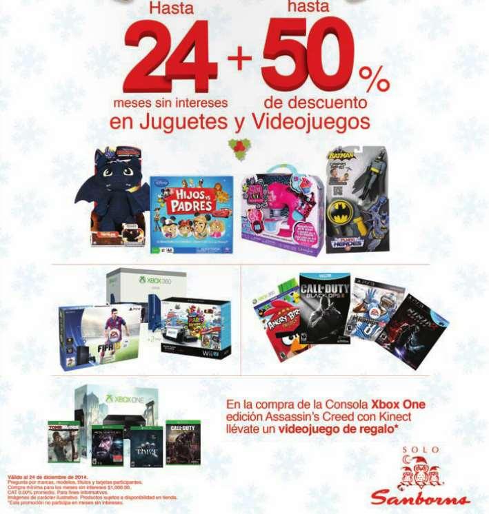 Sanborns: gratis juego a elegir al comprar Xbox One con Assassin's Creed Unity