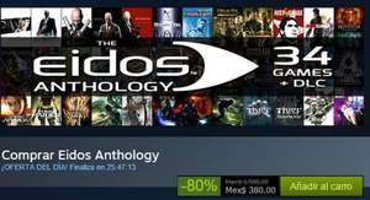 Steam - Eidos Anthology $380