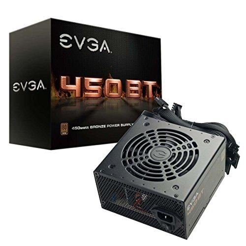 Amazon: Fuente 450W Certificado Bronze - EVGA 100-BT-0450-K1