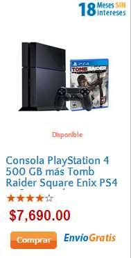 Walmart: PS4 con un juego $6,921, PS Vita con 2 juegos $3,141 y Galaxy Tab 3 $2,691 con AMEX