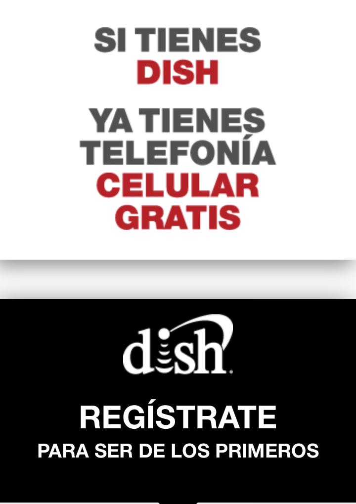 Dish: Te regala una linea telefónica y datos moviles para tu celular
