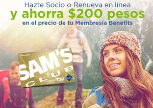 Sam's Club: Membresía SAMS CLUB Benefits, costo normal $550