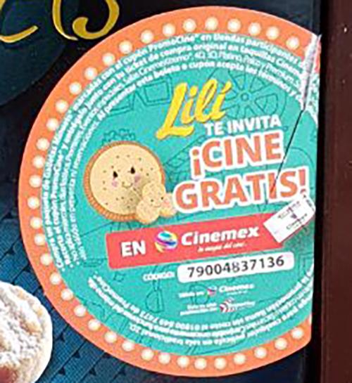 Cinemex: CINE GRATIS en la compra de galletas MINUETS